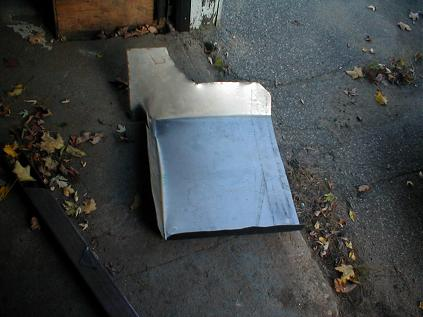 Replacing a Car Floor - Installing a New Floor Pan Home-Made