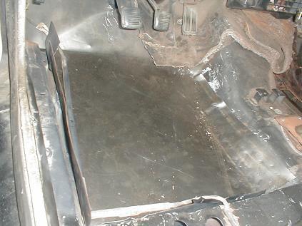 Replacing A Car Floor Installing A New Floor Pan Home