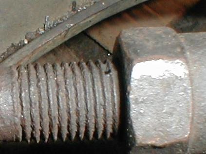 the threaded length on a replacement inner rod may not be the same as the  old rod, so you have to count from the end, not the middle