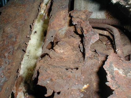 Getting Rid Of Rust Under Car